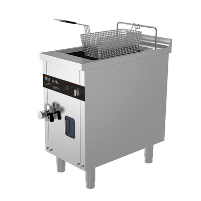 5kw 13 Litres Single Basket Commercial Induction Deep Fat Fryer