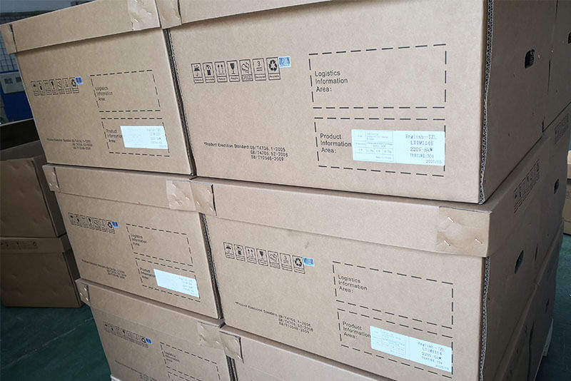 Shipping sample order-3500w induction hob
