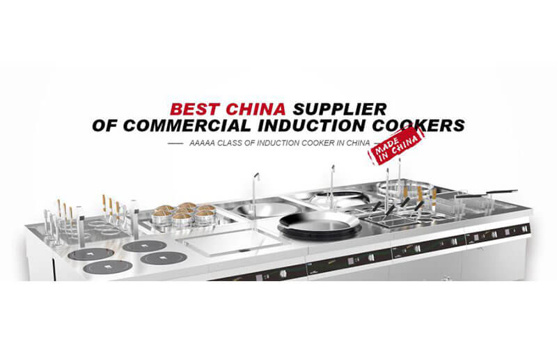 Best China supplier of commercial induction cookers